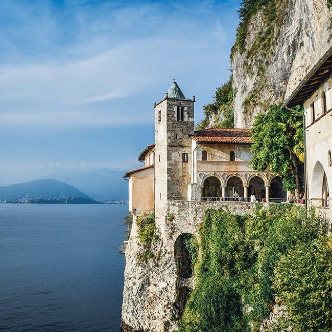 Cosa vedere all'Eremo di Santa Caterina del Sasso a Leggiuno