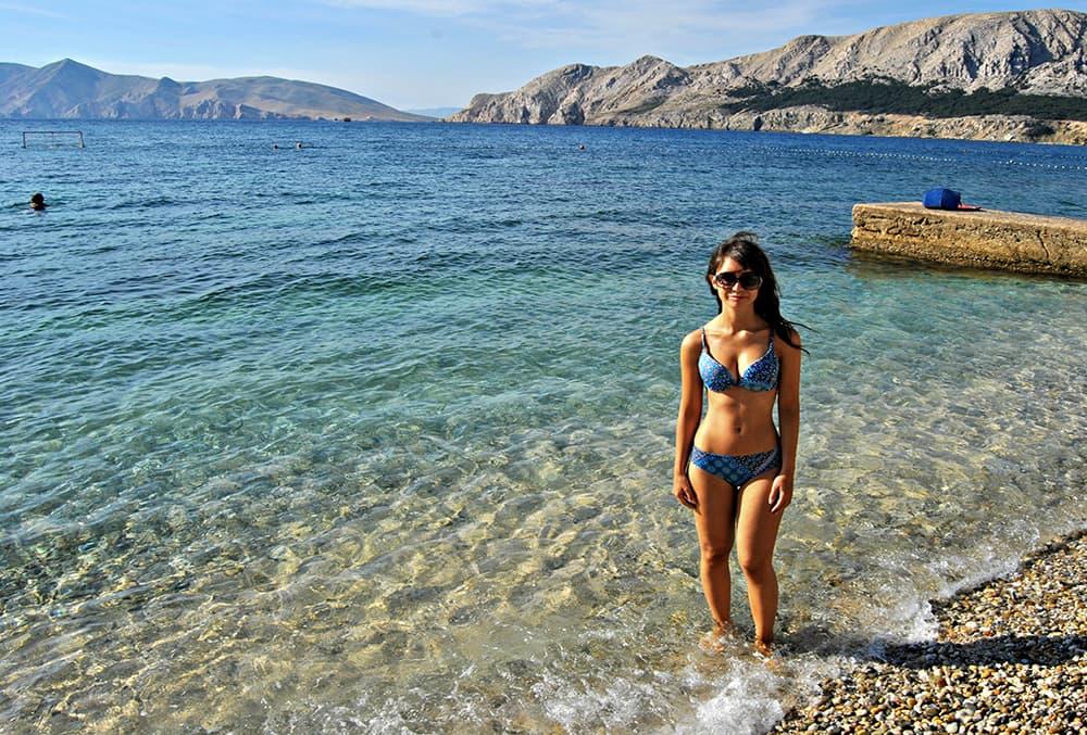 Baska sull'Isola di Krk in Croazia