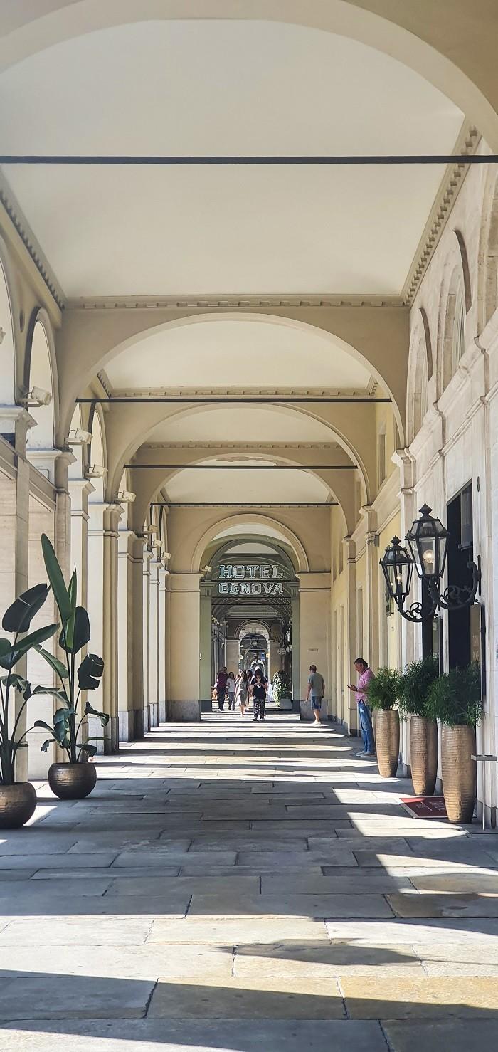 Hotel a Torino vicino alla stazione ferroviaria di Porta Nuova