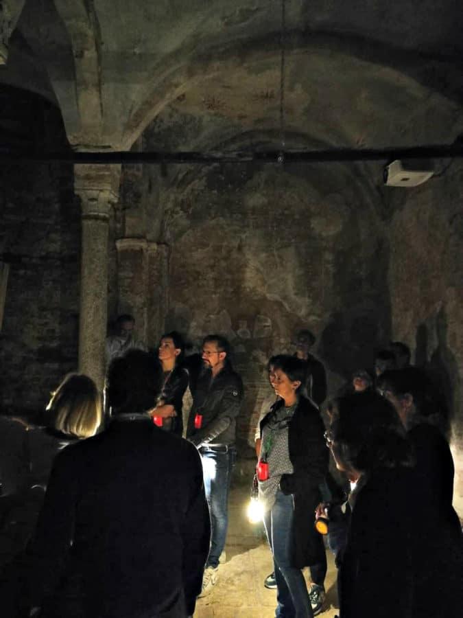 Visita alla cripta di San Sepolcro_Neiade Milano Tours