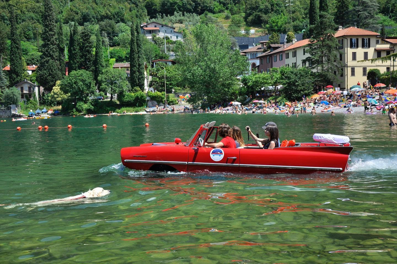 Larioland - auto anfibia per tour sul Lago di Como