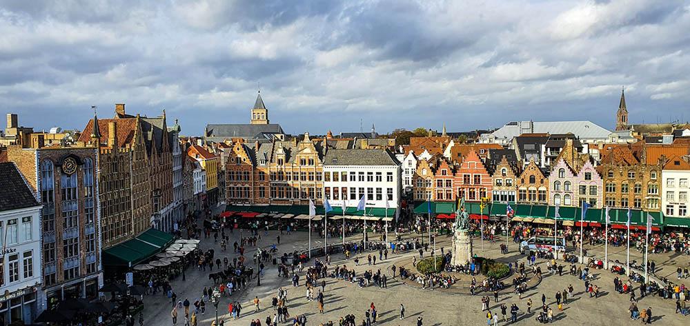 Cosa vedere al Grote Markt di Bruges
