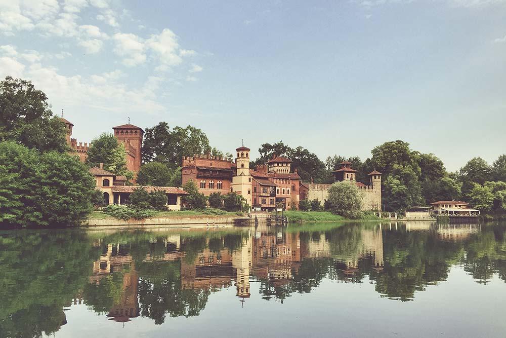 Borgo Medievale del Parco del Valentino di Torino