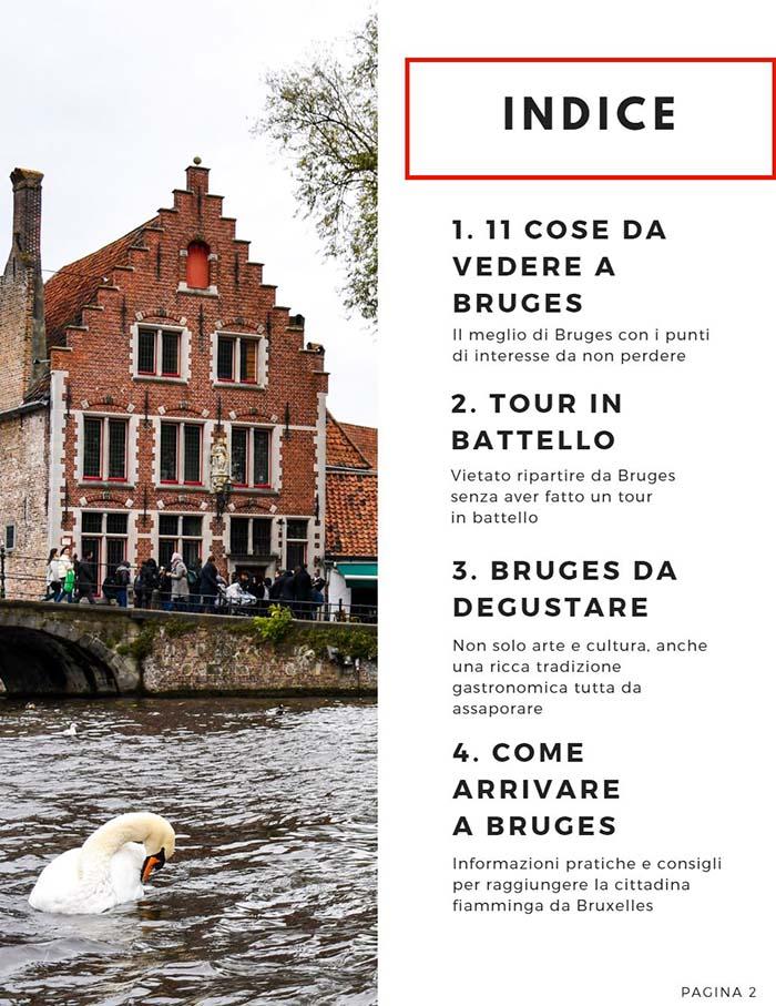 Bruges La guida di viaggio in pdf da scaricare gratis