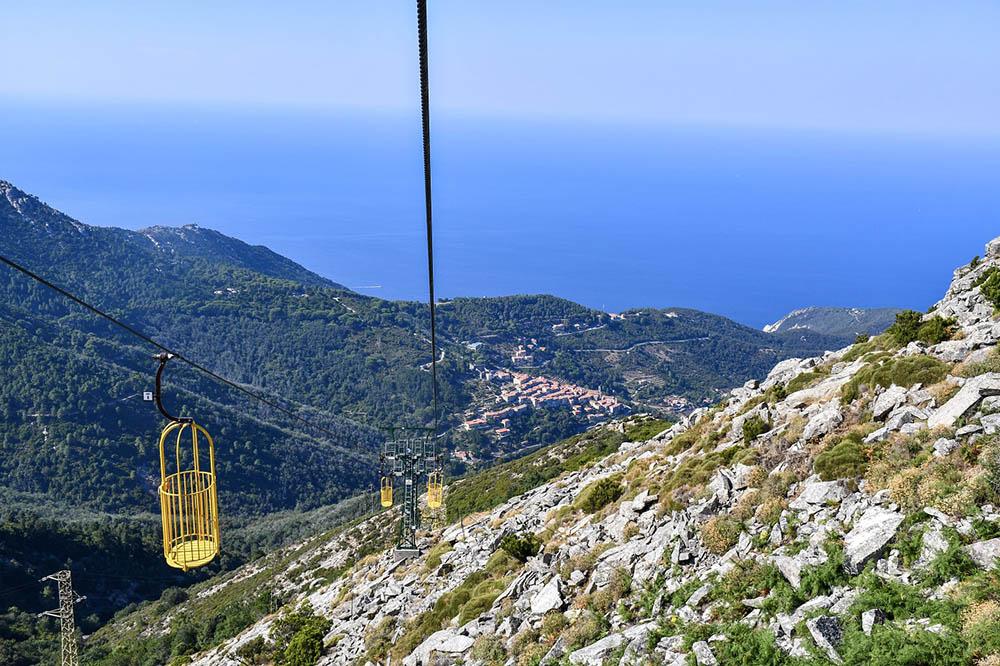 Cabinovia del Monte Capanne all'Elba