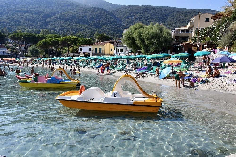 Spiaggia di Sant'Andrea all'Isola d'Elba