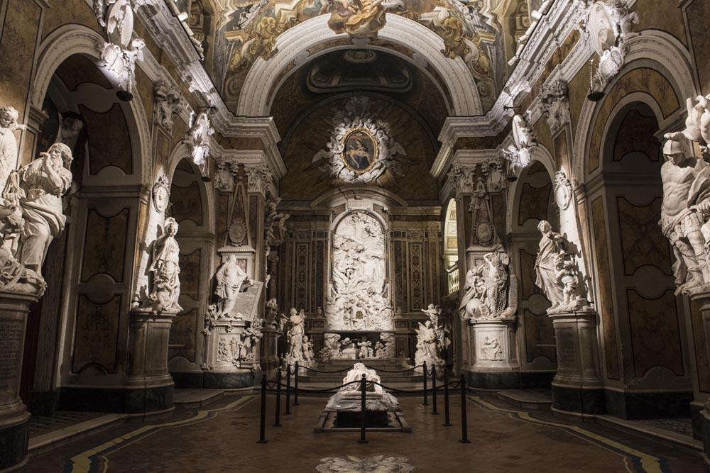 Cappello Sansevero e il Cristo Velato di Napoli