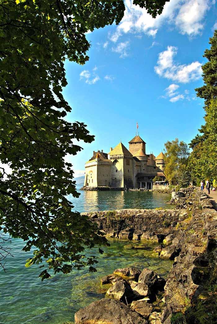 Castello di Chillon immagini