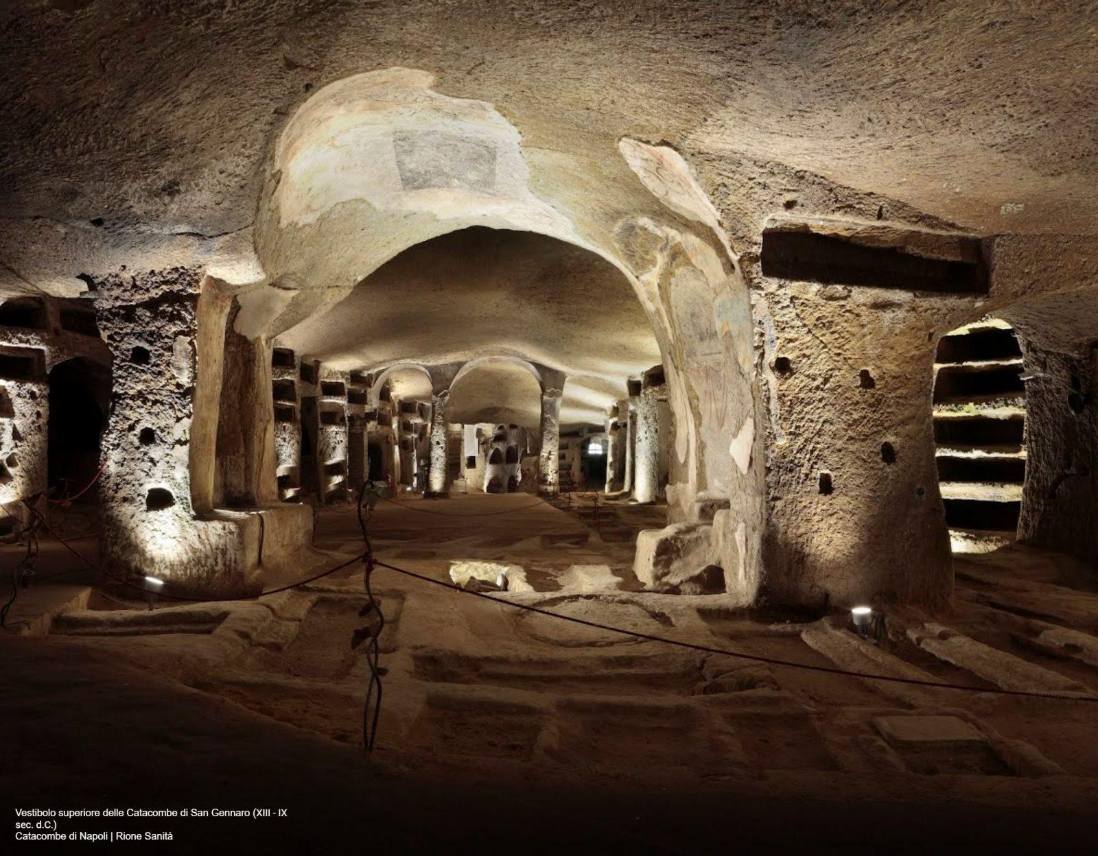 Catacombe-san-gennaro-napoli-tour-virtuale