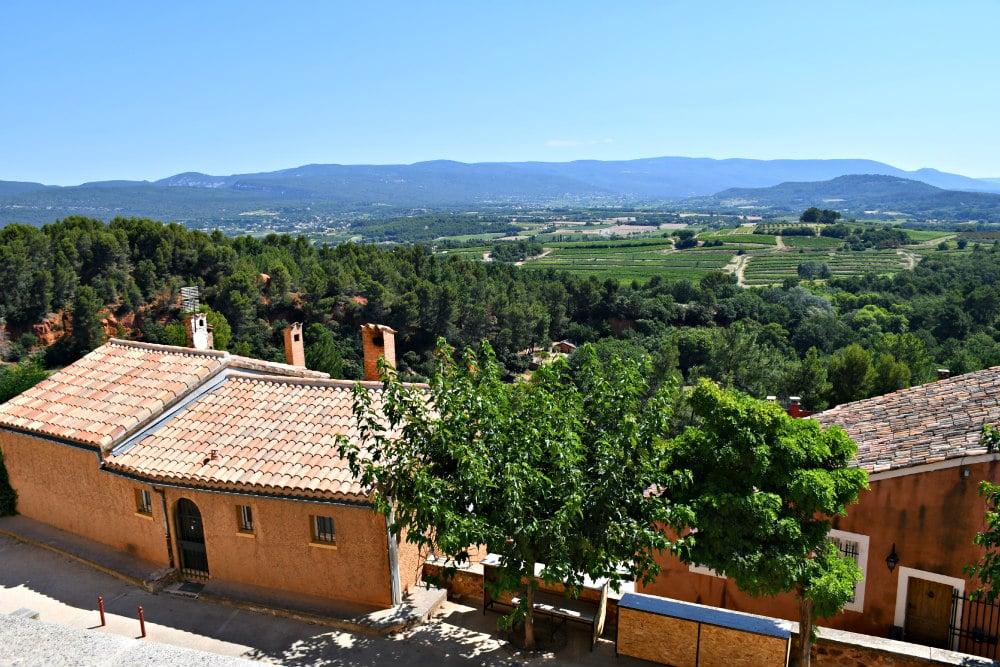 Il centro storico di Roussillon