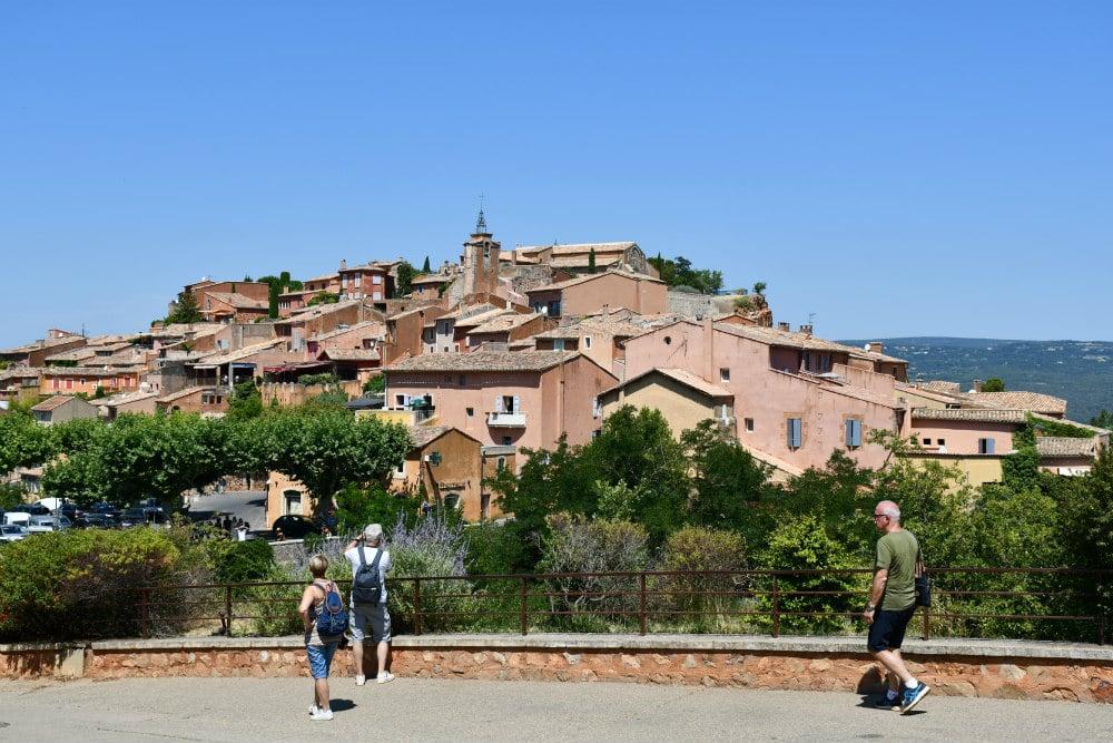 Roussillon e il Sentiero dell'Ocra