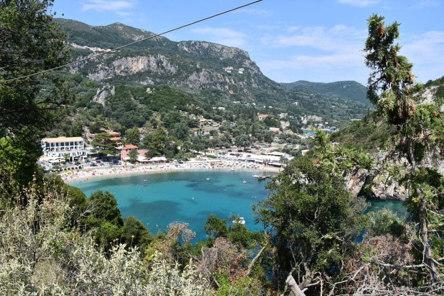 Palaiokastritsa beach_Corfù
