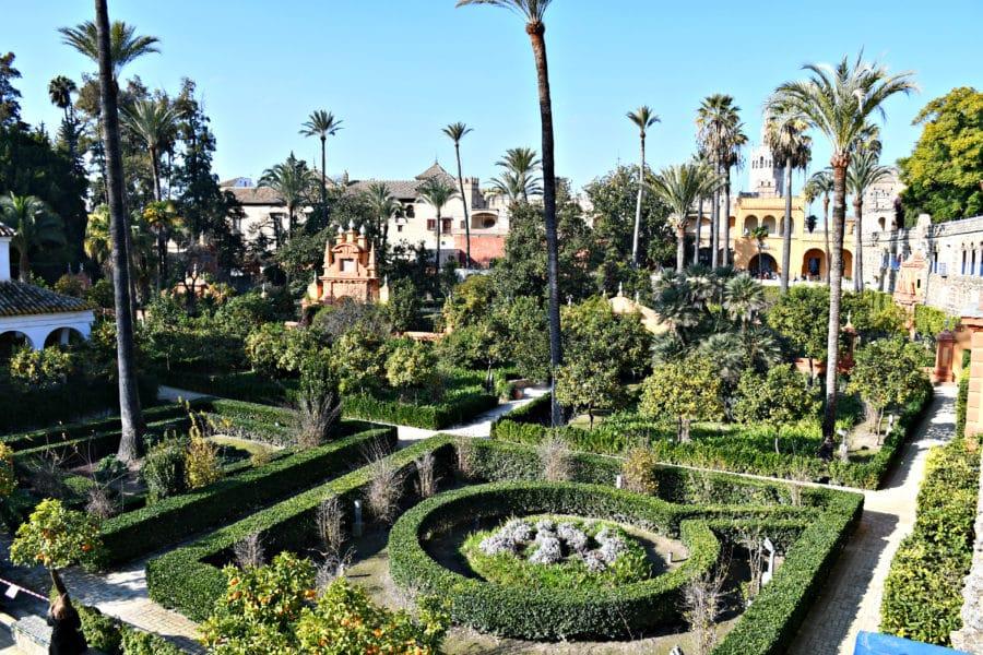 Giardini_Real Alcazar_siviglia