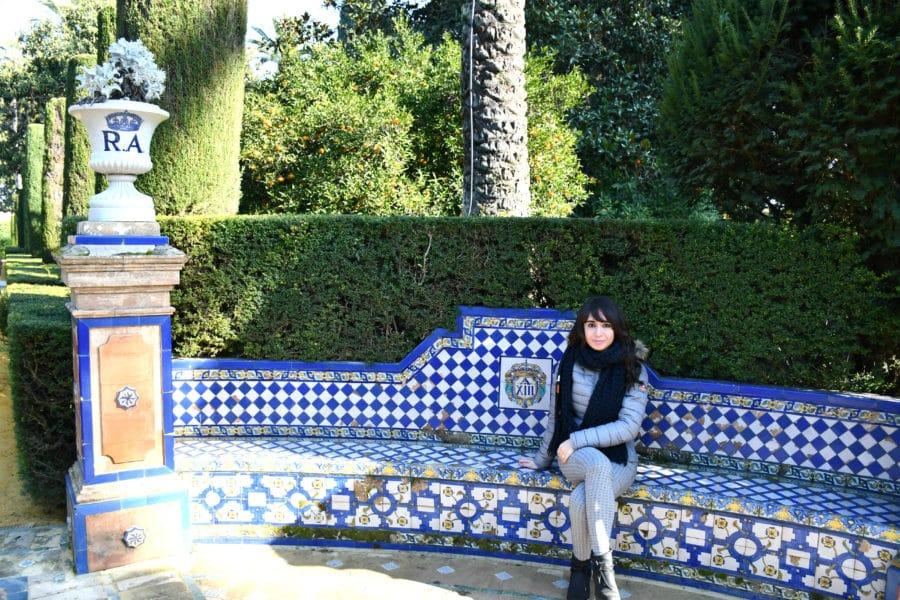 Visita ai giardini del Real Alcazar di Siviglia
