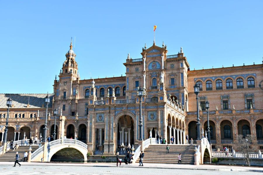Siviglia_storia_Plaza de España