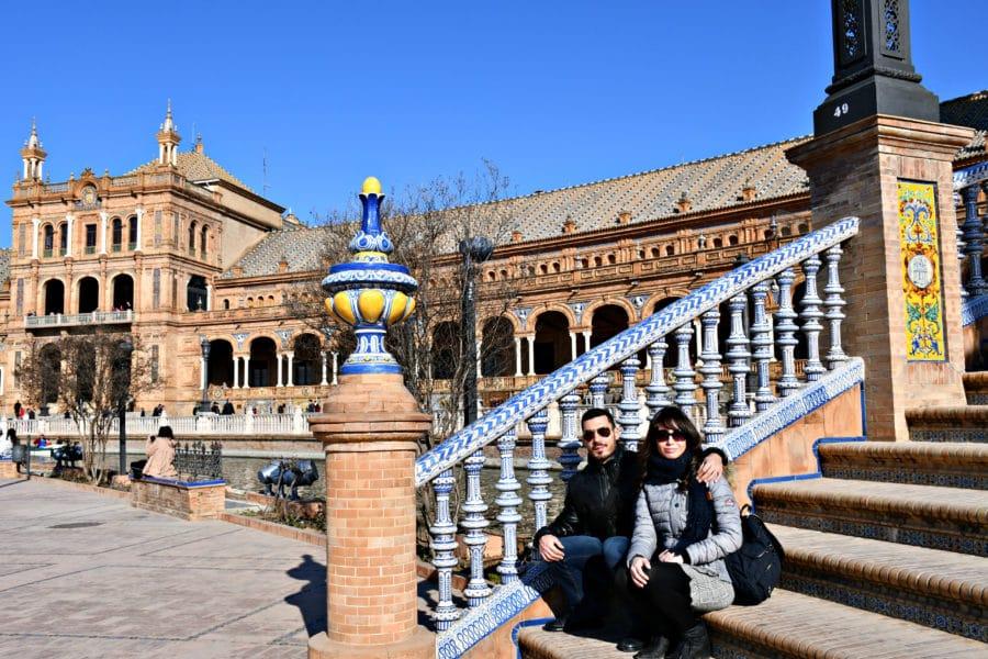 plaza de espana siviglia immagini