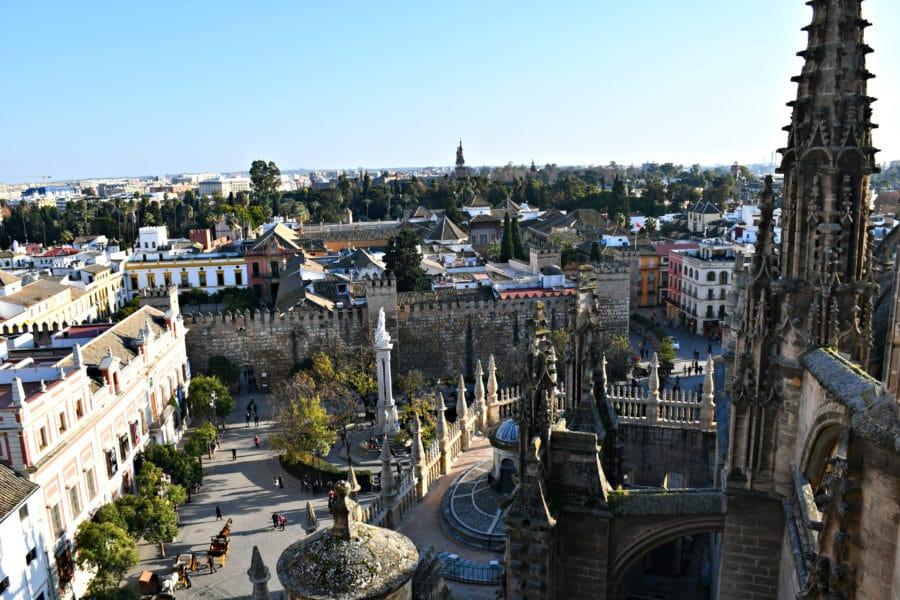 Visita guidata tetti cattedrale siviglia