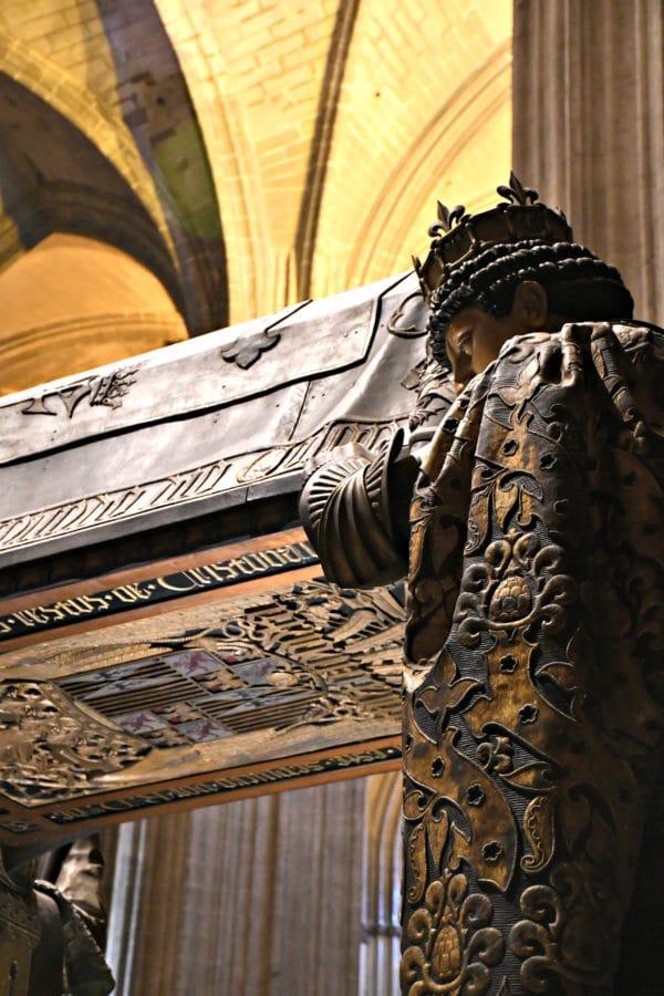 Tomba Cristoforo Colombo_Cattedrale_Siviglia