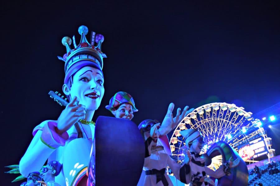 Carnevale di Nizza_2019_sfilata carri illuminati