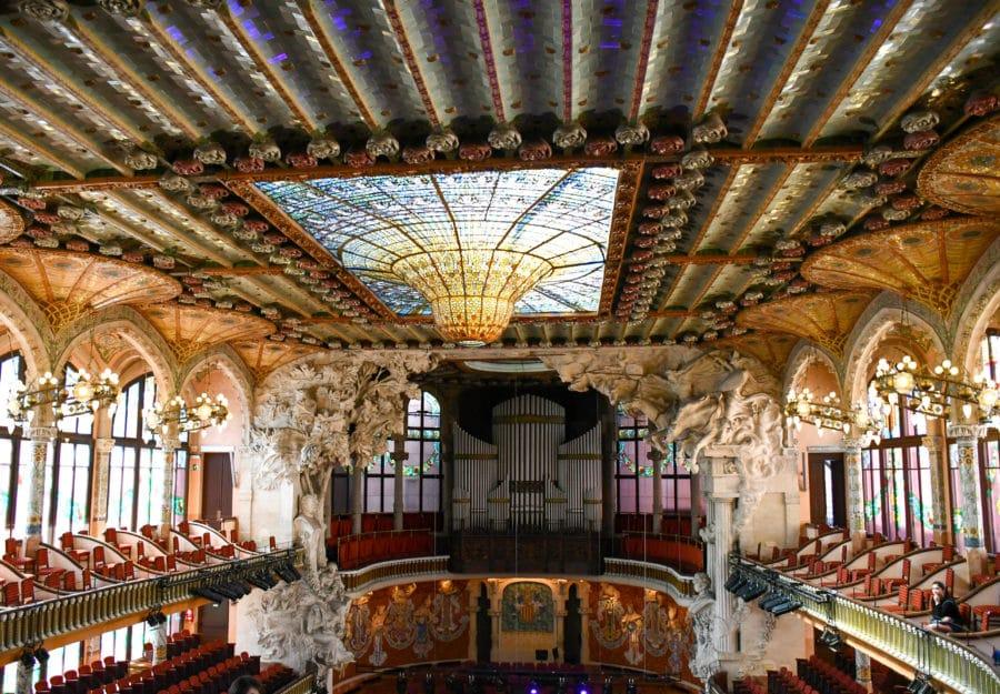 Cosa vedere a Barcellona_Palau de la Mùsica Catalana