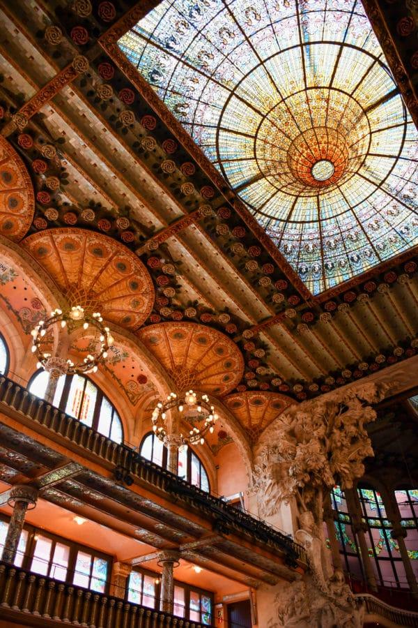 Palau de la Mùsica Catalana_cosa non perdere a Barcellona