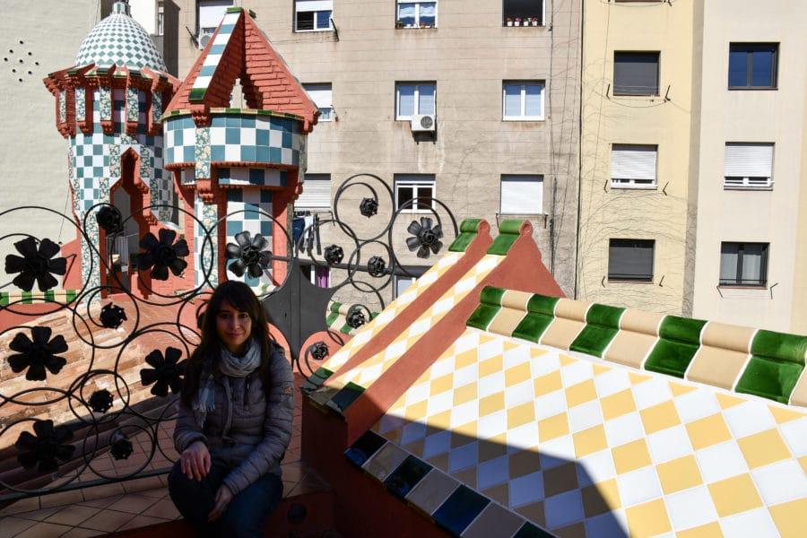 Casa Vicens_tetto_Barcellona_gaudì