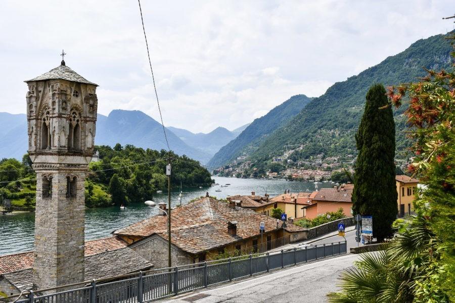 Cosa vedere Lago di Como: Ossuccio e il campanile