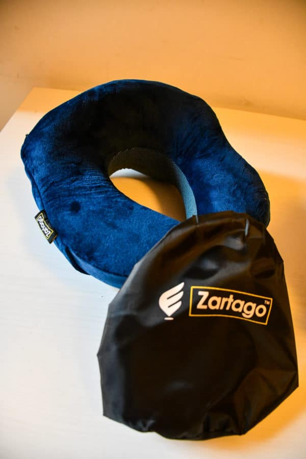 Cuscino da viaggio in memory foam Zartago