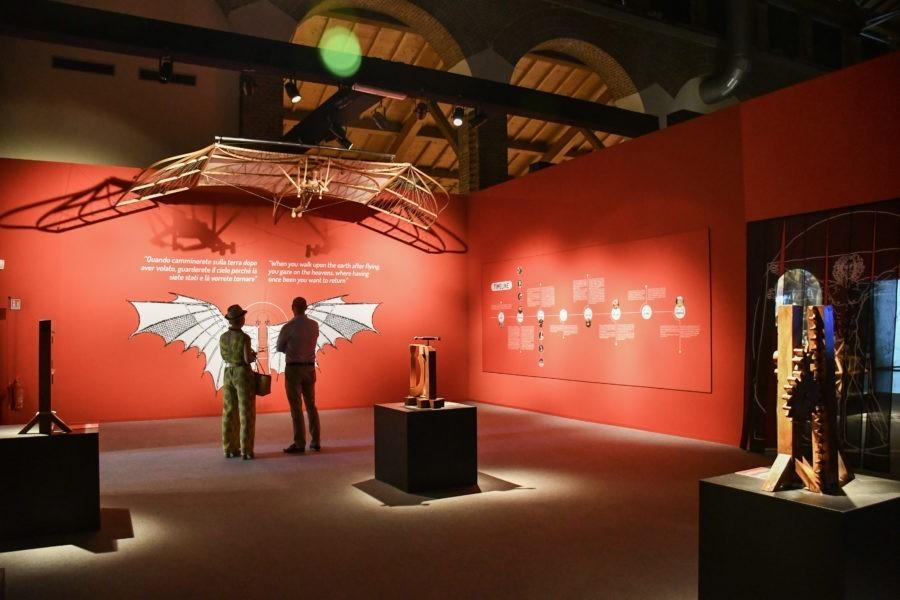Leonardo da Vinci 3d alla Fabbrica del Vapore
