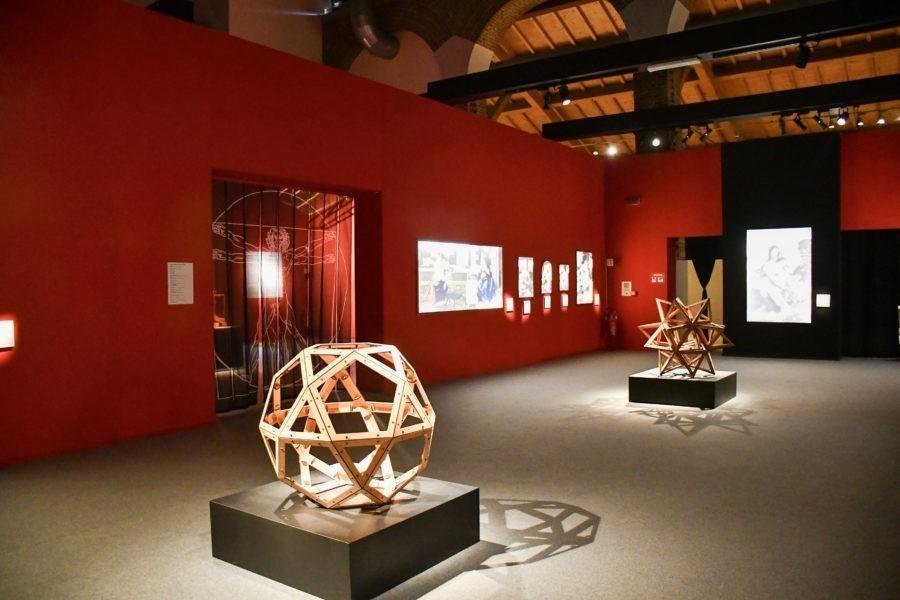 La mostra impossibile di Leonardo Da Vinci in 3D