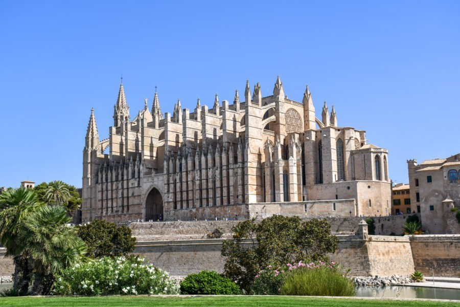 La Cattedrale di Palma di Maiorca