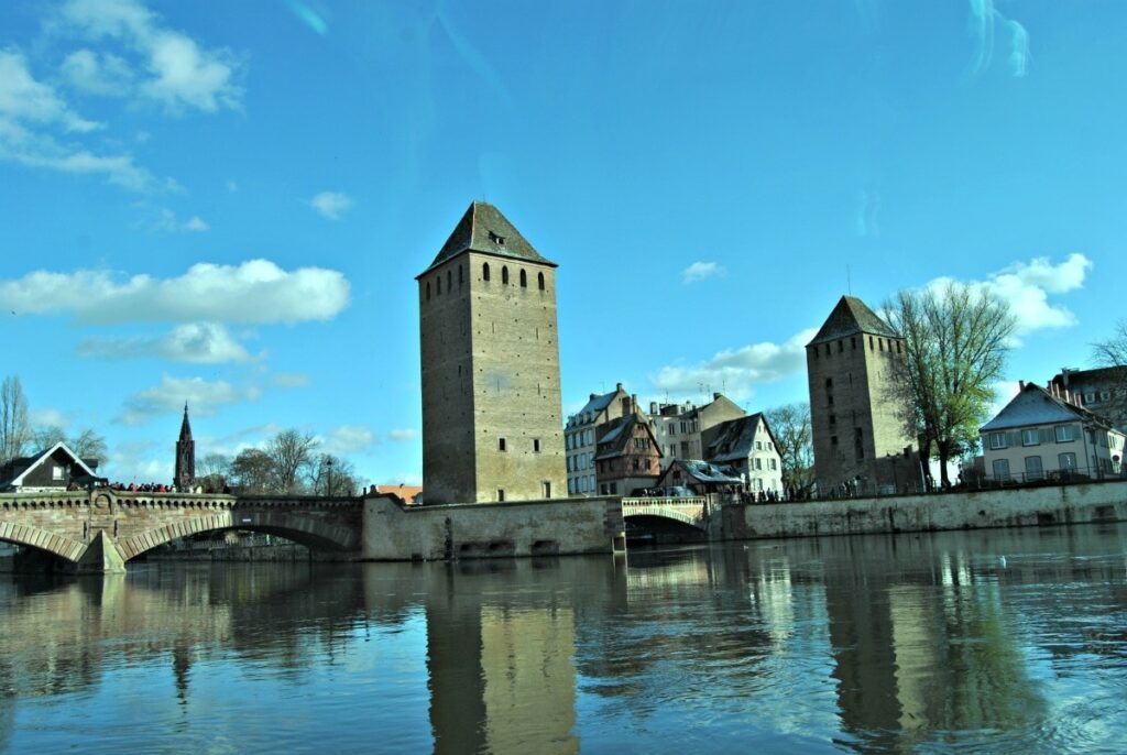 Pont Couverts Strasbourg Batorama