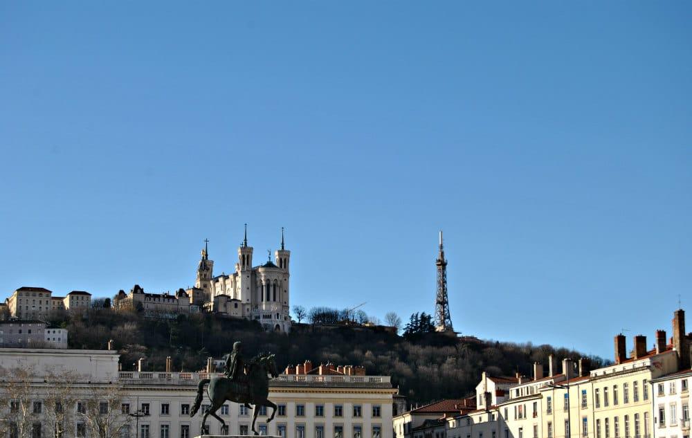 Vista di Place Bellecour_Lione