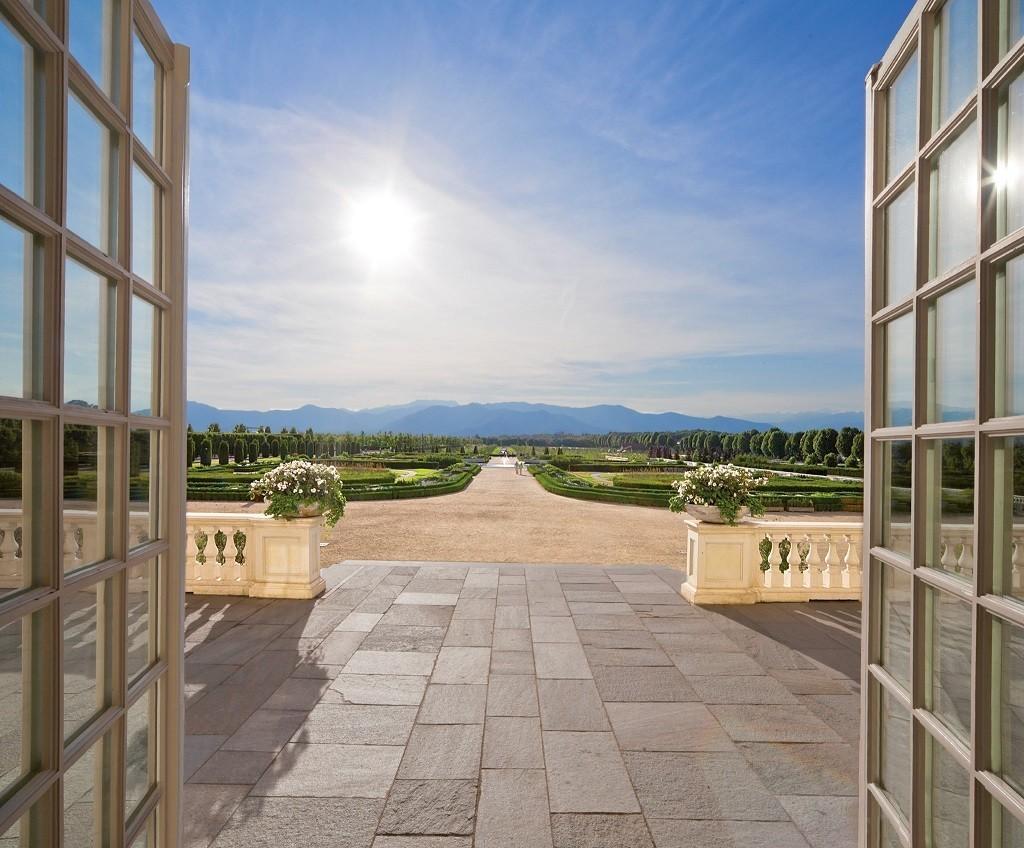 Visita virtuale dei Giardini della Reggia di Venaria a Torino