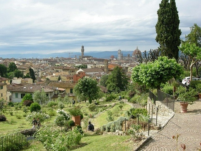 Giardino delle Rose a Firenze