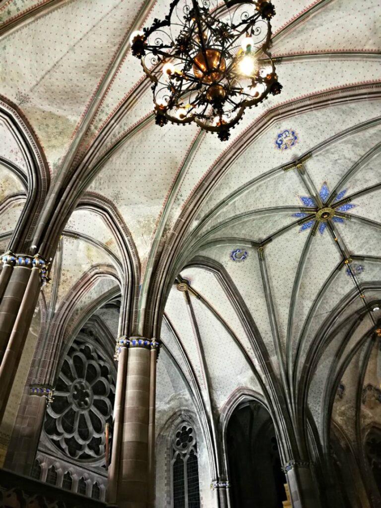Interni della Chiesa di Saint Paul Strasburgo