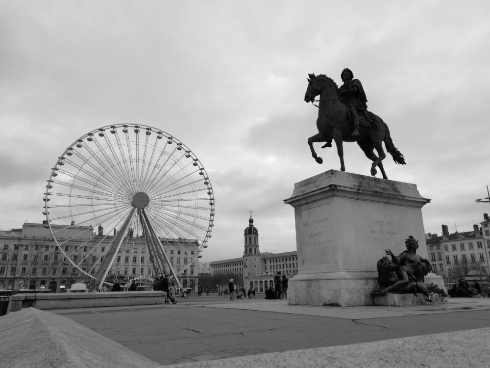 Piazza Bellecour_Lione