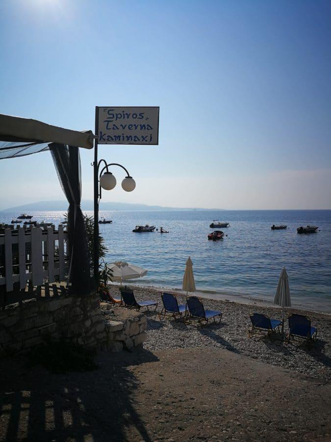 Kaminaki beach_Corfù