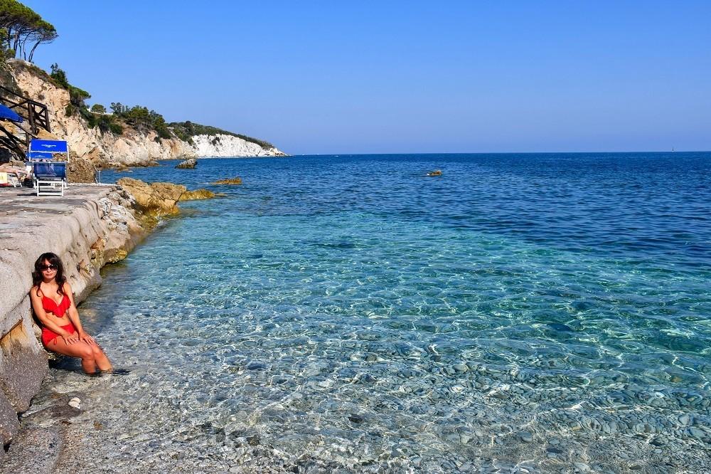 Spiagge Le Ghiaie all'Isola d'Elba