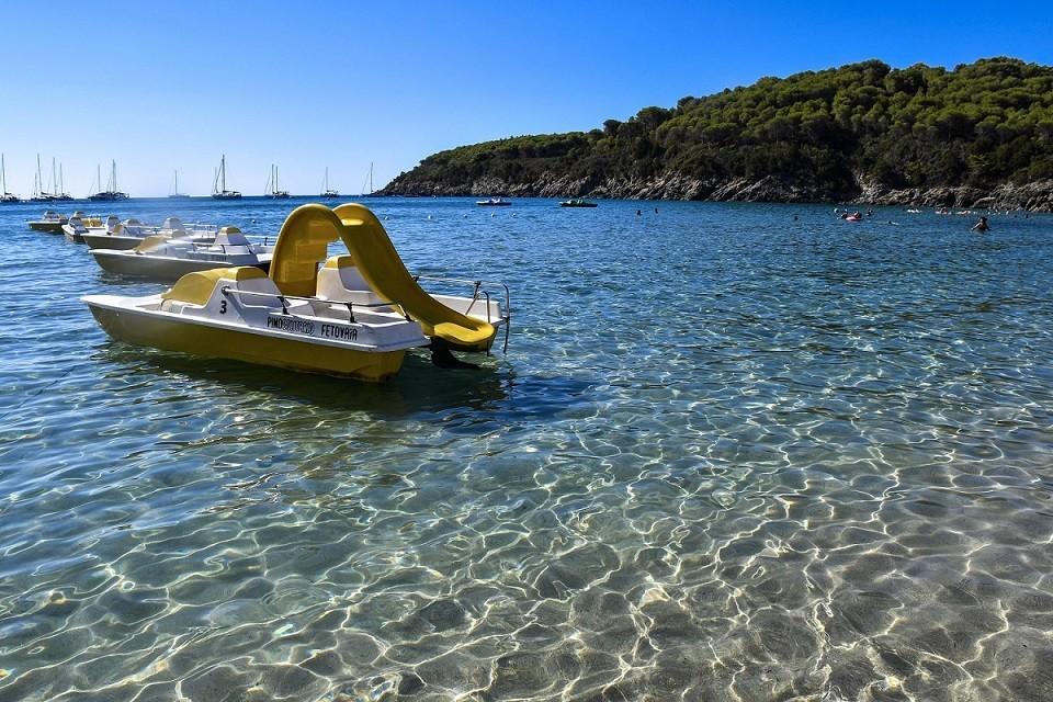 Spiaggia della Fetovaia all'Isola d'Elba