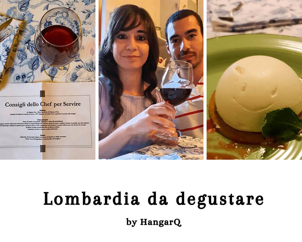 Degustazioni online dei sapori della Lombardia. HangarQ