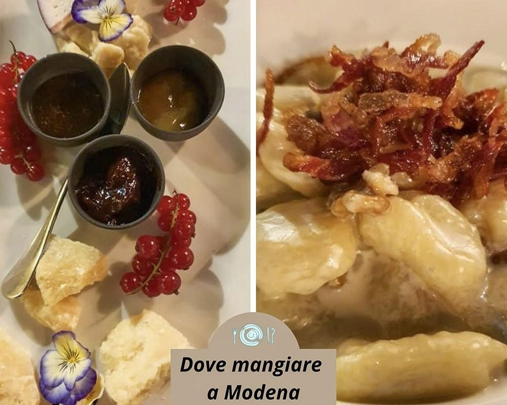 Dove cenare a Modena