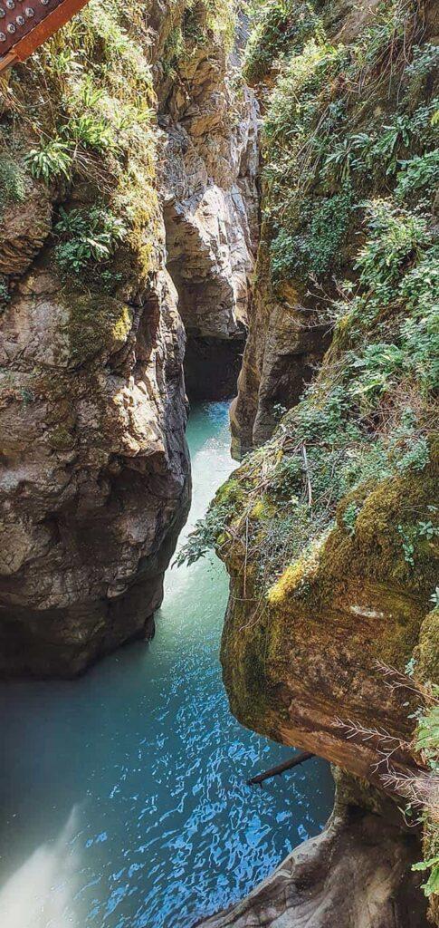 Il canyon dell'Orrido di Bellano