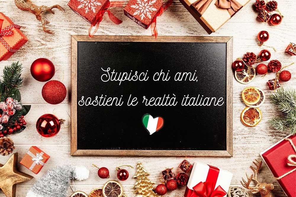 Regali di Natale originali per sostenere le realtà italiane