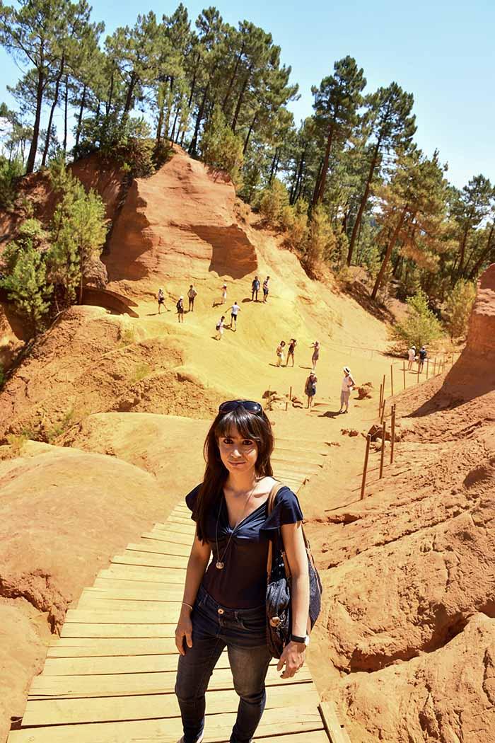 Sentiero dell'Ocra di Roussillon