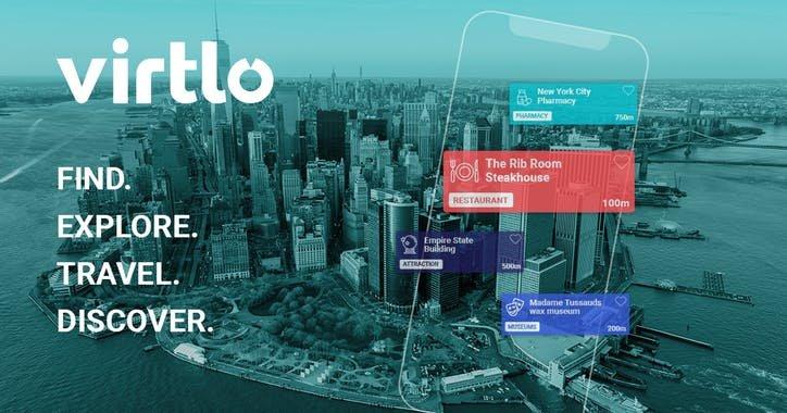 Virtlo. l'app di realtà aumentata per il turismo