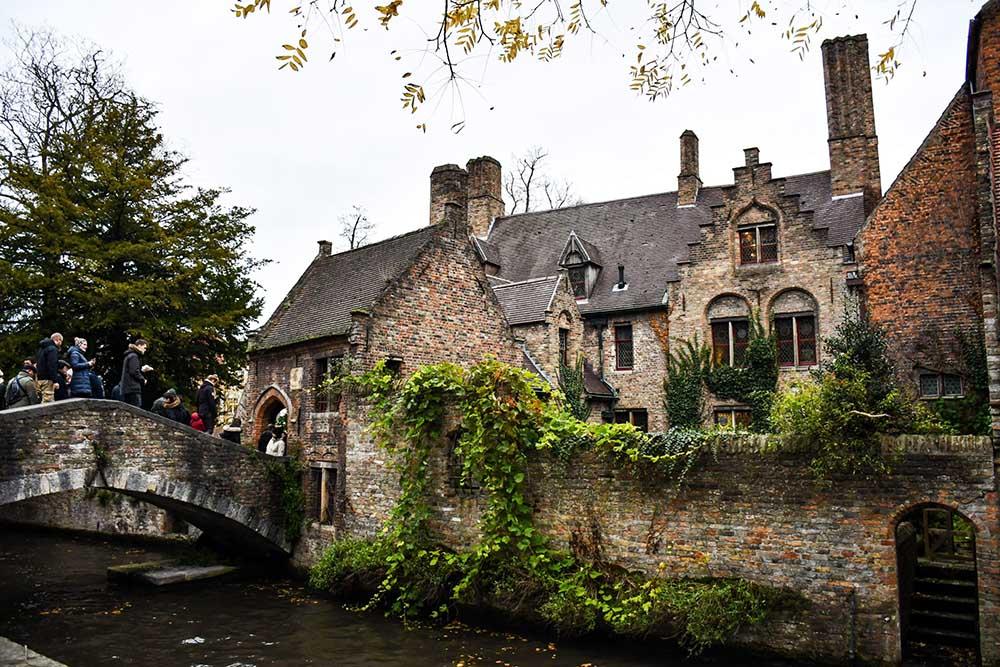 visitare Bruges in due giorni: il ponte di Bonifacio