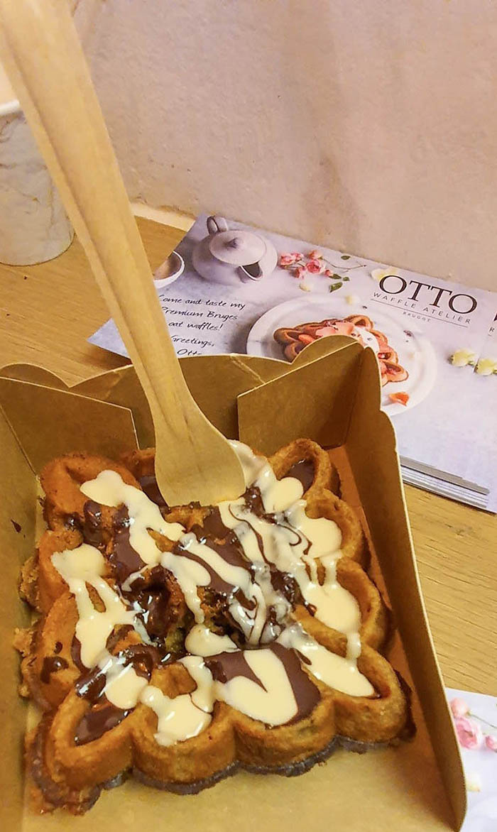 Waffle di Bruges: Otto Waffle Atelier
