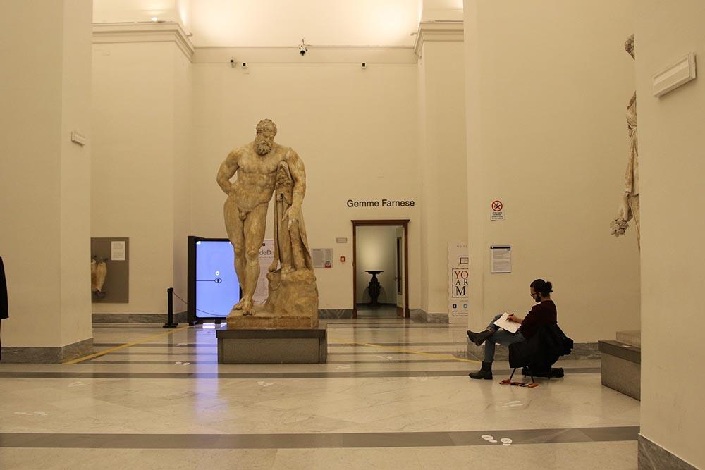 Museo Archeologico di Napoli tour virtuale