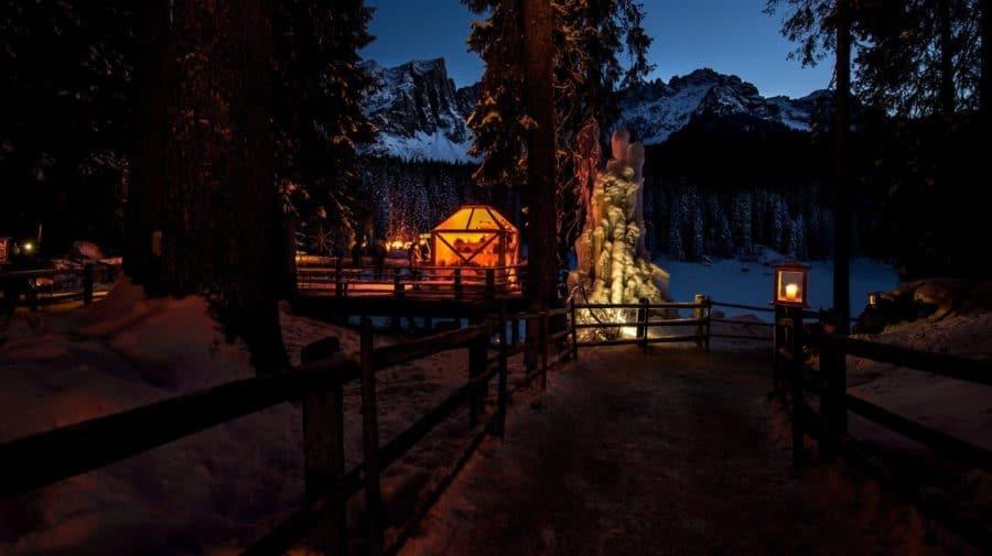 Magie natalizie_Lago di Carezza_Natale_mercatini 2018